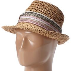 San Diego Hat Company CHA6390 Sequin Flower Fedora