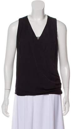 Alice + Olivia Lace-Trimmed Sleeveless Top