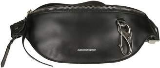 Alexander McQueen Logo Zipped Belt Bag