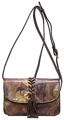 Patricia Nash Roman Goddess Collection Torri Tasseled Cross-Body Bag $109 thestylecure.com