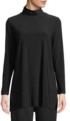 Caroline Rose Long-Sleeve Knit Turtleneck, Plus Size