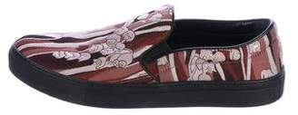 Giamba Brocade Slip-On Sneakers