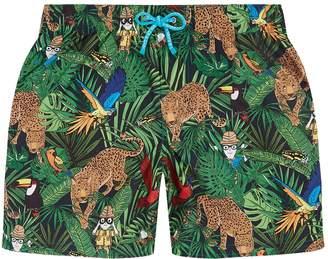 Dolce & Gabbana Safari Print Swim Shorts