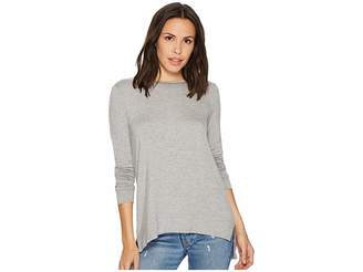 Kensie Drapey French Terry Sweatshirt KS1K3567 Women's Sweatshirt