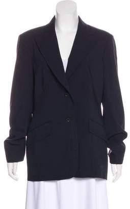 Oscar de la Renta Casual Wool Blazer
