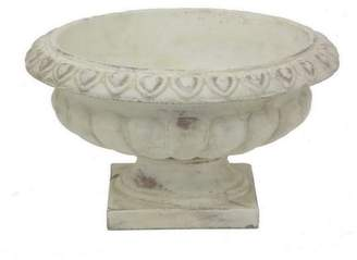 Three Hands Co. Footed Ceramic Urn Planter
