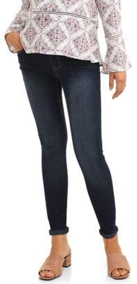1ff8f0c9a74 Oh! Mamma Maternity Full Panel Stretch 5 Pocket Boyfriend Jeans -- Available  in Plus