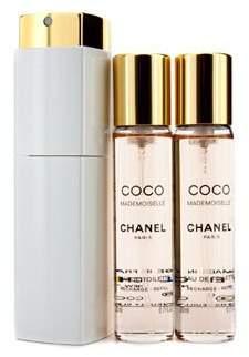 Chanel Coco Mademoiselle Twist & Spray Eau De Toilette 3x20ml/0.7oz