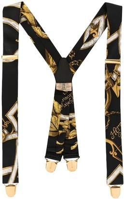 Hermes Pre-Owned Logos Suspenders