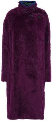 Piazza Sempione Oversized Alpaca And Wool-blend Coat