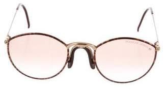 Porsche Design Round Tinted Sunglasses