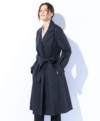 Calvin Klein (カルバン クライン) - Calvin Klein women 【2018SS】ウォッシュドナイロン トレンチコート(C)FDB
