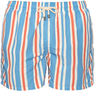 SOLID & STRIPED The Classic striped swim shorts $130 thestylecure.com