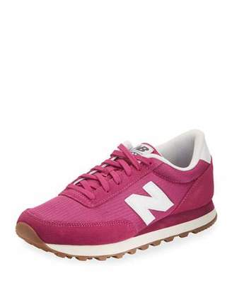 New Balance 501 Mesh Low-Top Sneaker, Pink $64.95 thestylecure.com