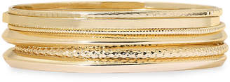 Liz Claiborne Gold-Tone 6-pc. Bangle Bracelet Set
