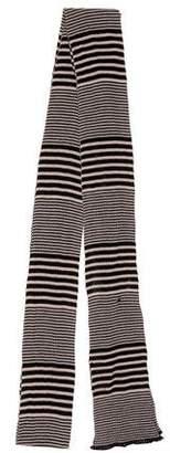 Missoni Striped Rib Knit Scarf