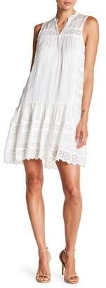 Rebecca Taylor Lace Trim Dress