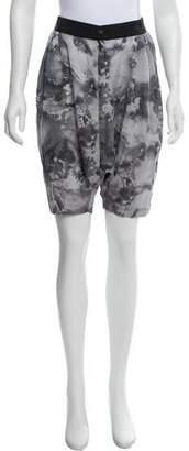 Rag & Bone Silk Abstract Print Shorts
