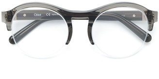 Chloé Eyewear acetate round glasses