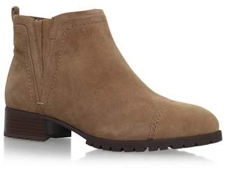 Nine West Brown 'Layitout' Flat Ankle Boots