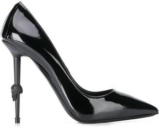 Philipp Plein Decollete Skull pumps