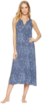 Lauren Ralph Lauren Sleeveless Peasant Neck Ballet Gown Women's Pajama
