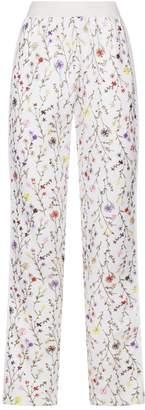 Giambattista Valli Floral Embroidered Sweatpants
