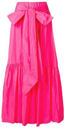 P.A.R.O.S.H. tiered maxi skirt