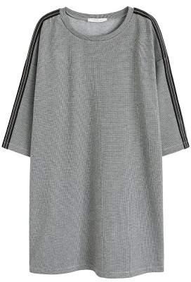 Violeta BY MANGO Houndstooth dress
