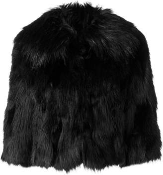 Elisabetta Franchi faux fur jacket