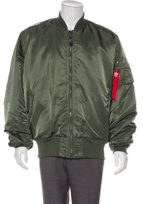Alpha Industries Reversible Bomber Jacket w/ Tags