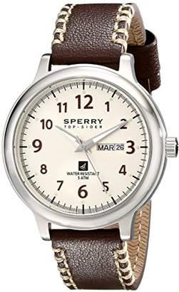 Sperry Men's 10018686 Largo Analog Display Japanese Quartz Brown Watch