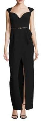Black Halo Prestige Floor-Length Gown