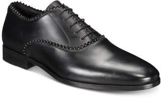 Roberto Cavalli Men Plain-Toe Studded Oxfords Men Shoes