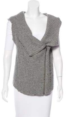 Helmut Lang Wool Zip-Up Vest