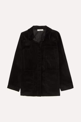 Atlantique Ascoli Cotton-corduroy Jacket - Black