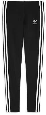 adidas Girls' Signature Striped Leggings - Big Kid