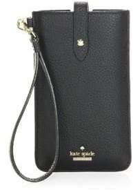 Kate Spade Flap Leather Phone Sleeve