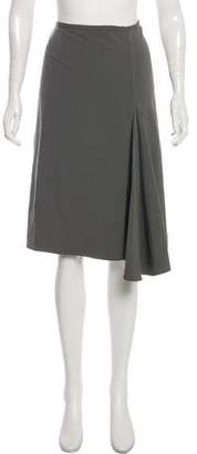 Lafayette 148 A-Line Knee-Length Skirt