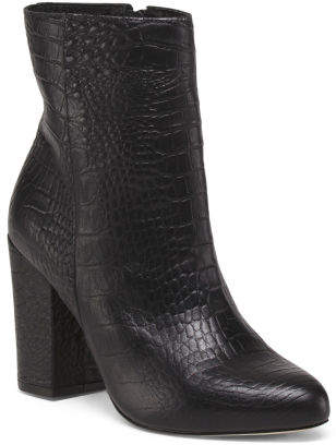 Made In Brazil Mid Calf Leather Boots