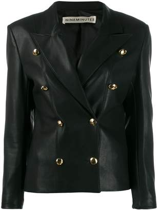 Nineminutes faux leather jacket