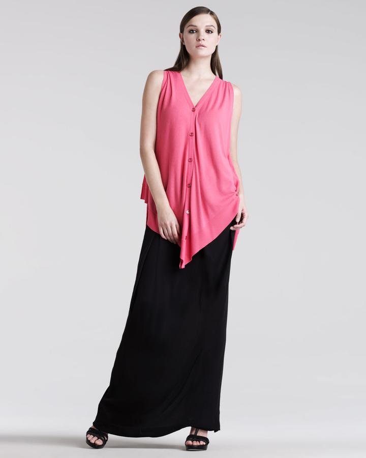 Maison Martin Margiela Pleated Maxi Skirt