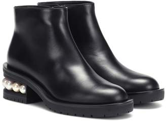 Nicholas Kirkwood Casati 35mm leather ankle boots