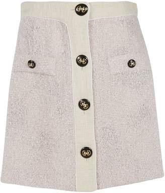 433f2bca21add5 Pink Tweed Skirt - ShopStyle UK