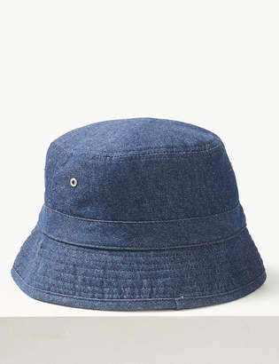 Marks and Spencer Pure Cotton Bucket Hat 1008fa32a06