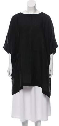 eskandar Oversize Linen Tunic