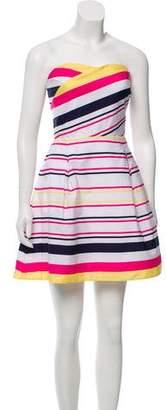 Lilly Pulitzer Strapless Striped Mini Dress w/ Tags