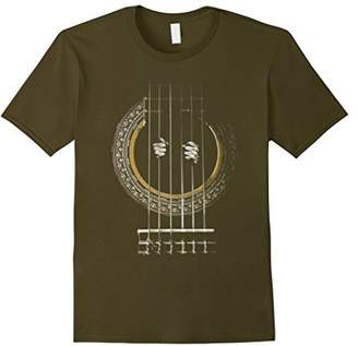 Electric Bass Acoustic Guitar T Shirt: Guitar Prisoner