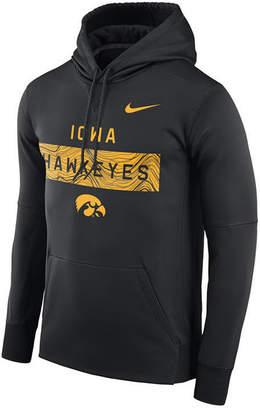Nike Men's Iowa Hawkeyes Staff Pullover Hooded Sweatshirt