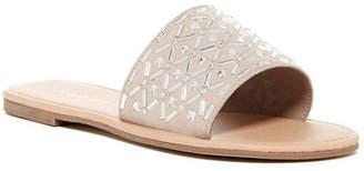 Madden Girl Biisou Embellished Slide Sandal $39 thestylecure.com